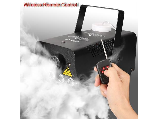 Virhuck 500W Portable RC Fog Machine with Wireless Remote Control Equipped  with LED Lights, Professional Smoke Machine, Smoke Machine for Halloween