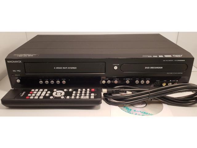 Refurbished: Magnavox ZV450MW8 DVD VCR Combo DVD Recorder VHS to DVD  Dubbing - Newegg com