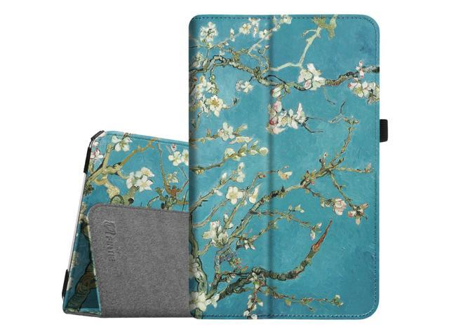 free shipping bad3b 9135d For Samsung Galaxy Tab E 9.6 / Samsung Tab E Nook 9.6 Tablet Case - Fintie  Slim Fit PU Leather Stand Cover, Blossom - Newegg.com