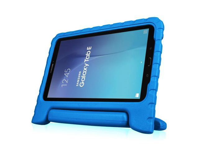 new style 55b80 e85c9 For Samsung Galaxy Tab E 9.6 Tablet Kiddie Case - Fintie Lightweight Shock  Proof Convertible Handle Cover, Blue - Newegg.com