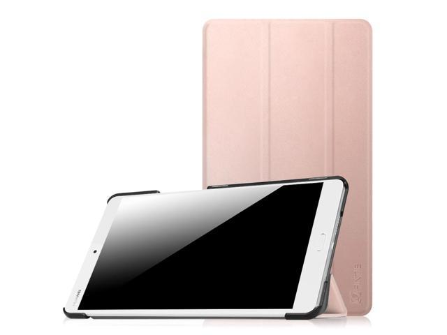 new style 03b11 88a49 Fintie Huawei MediaPad M3 8.4 Case - Lightweight Slim Shell Standing Cover  with Auto Sleep/Wake, Rose Gold - Newegg.com