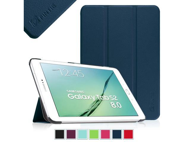 new product e7cbd 13043 Fintie Case for Samsung Galaxy Tab S2 8.0 / S2 Nook 8.0 Tablet - Slim Light  Weight Standing Cover, Navy - Newegg.com
