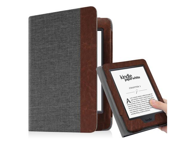 huge selection of d7356 177db Fintie Folio Case for Amazon Kindle Paperwhite Generations Prior to 2018 -  Not for All-new Paperwhite 2018, Charcoal - Newegg.com