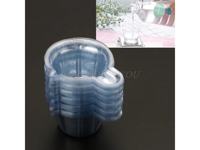 50Pcs Plastic 40ml Disposable Cups Dispenser For Epoxy Resin Mold Jewelry Making