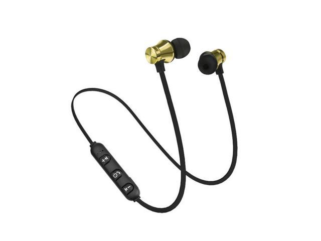 Magnet Wireless Bluetooth Earphone Headphones Sports Headset For Iphone 7 8 Plus X Samsung S8 S9 Plus Newegg Com
