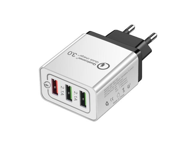 sale retailer d7347 659ec Universal 18W USB Quick Charge 3.0 5V 3A for iPhone 7 8 X XR XS Max EU US  Plug Mobile Phone Fast Charger Charging for Samsug S8 S9 Huawei - Newegg.com