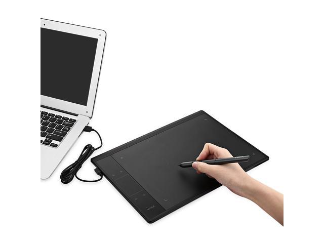 A30 Graphics Drawing Tablet With For Illustrator 8192 Levels Battery Free Pen 10 X 6 Active Area Drawing Pad For Artists Computer Peripherals