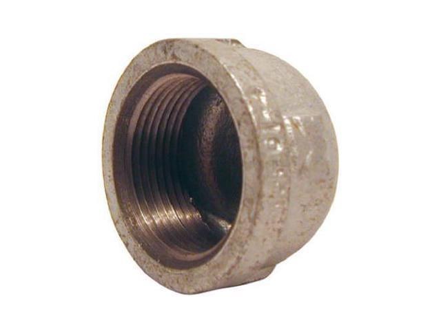 B & K/Mueller Inds(Import) 511-404HN Galvanized Pipe Fitting, Cap, 3/4-In   - Quantity 15 - Newegg com