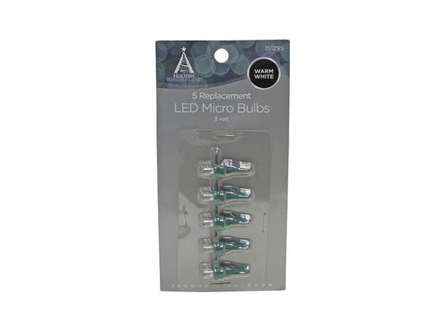 Hw 11211 88 Christmas Lights Led Replacement Bulb Micro Warm White 5 Pk Quantity 1