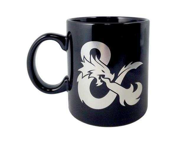 Dragons Set Colored Ceramic MugBlack 116oz And Of Coffee Dungeons nwN08m
