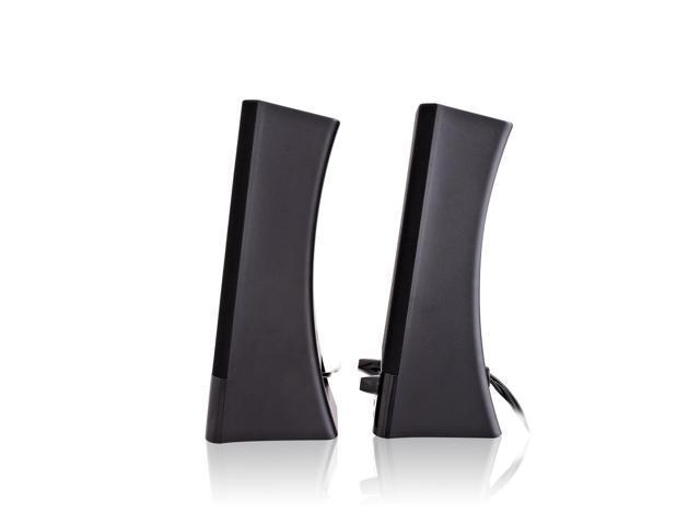 V7 SP2500-USB-6N Usb 2 0 Stereo Speaker Volume Control Usb 5W Rms Blk -  Newegg com