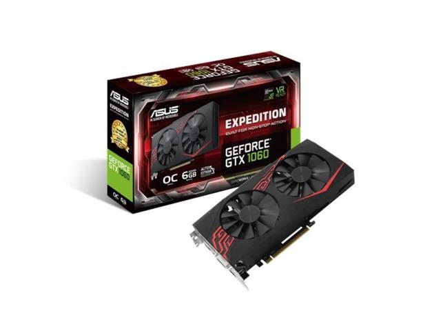 1060 Graphics Card >> Asus Expedition Gtx 1060 6gb Gddr5 Graphics Card Ex