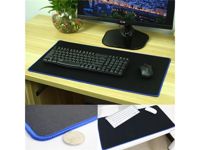 Ultra Large Non-Fraying Rubber Gaming Mouse Pad Soft Keyboard Mat For PC Laptop