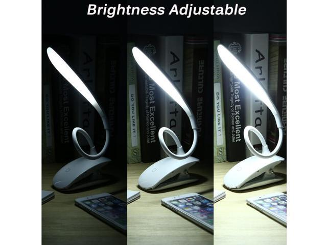 Usb Rechargeable Led Book Light Reading