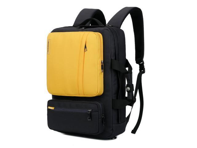 28b61e6f9c06 SOCKO Convertible Backpack Messenger Bag Shoulder bag Laptop Case Handbag  Business Briefcase Multi-functional Travel Rucksack Fits 17.3 Inch Laptop  ...