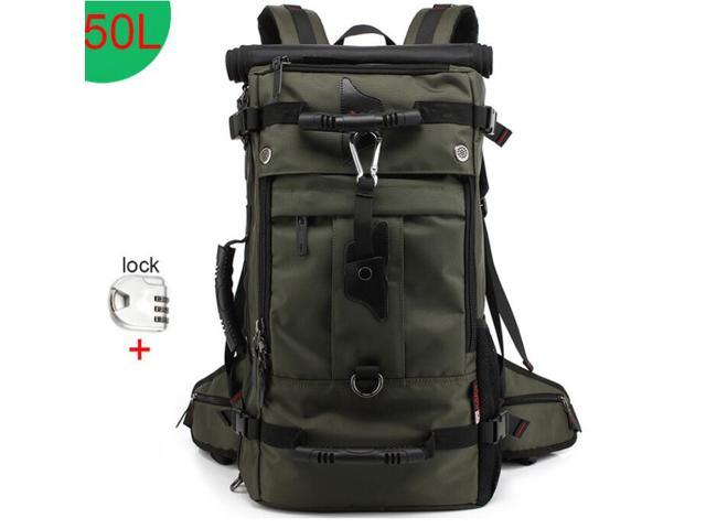 7d57e9e4aed2 KAKA 50L Lightweight Packable Backpack with Wet Pocket - Durable Water  Resistant Travel Hiking Camping Outdoor Daypack for Women Men -  KAKA2070-50L - ...