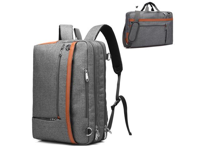 Multi-Functional Messenger Bag Travel Backpack Shoulder Bag Fit 17.3 Inch Laptop