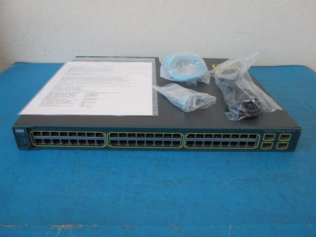 Refurbished: Cisco WS-C3560-48PS-S 48-Port PoE version of WS-C3560-48TS-S -  Newegg com