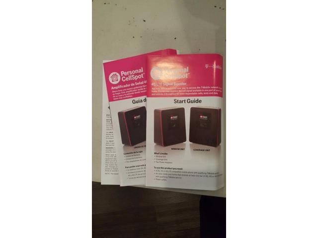 Refurbished: T-Mobile NXT CEL-FI-D32-24 Indoor 4G LTE Signal Booster  Personal CellSpot EUC - Newegg com