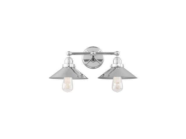 Murray Feiss Vs23402ch 2 Light Vanity Chrome 10 In Newegg