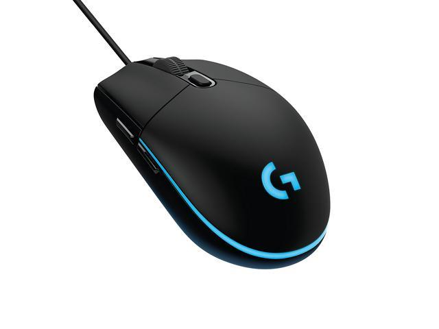 Gaming Mouse,Logitech G203 Prodigy RGB Wired Gaming Mouse, On-The-Fly  200-6000 DPI, Up to 8x faster than standard mice, Customizable lighting  from