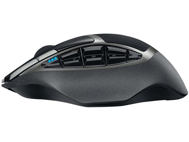 Gaming Mouse, New Logitech G602 Lag-Free Wireless Gaming Mouse – 11  Programmable Buttons, On-the-fly adjustable DPI Up to 2500 DPI, Black RF
