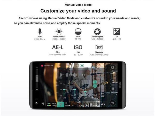 Refurbished: LG V20 4GB RAM 64GB ROM Android Quad Core 5 7'' 16MP Camera 4G  LTE Unlocked Smartphone VS995 (Verizon) - Newegg ca