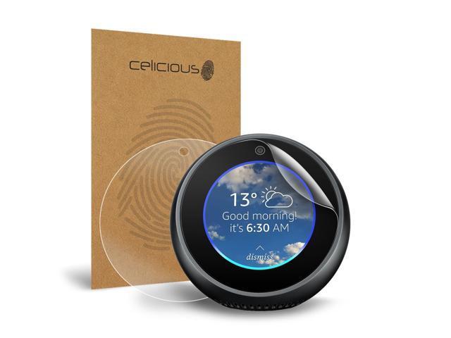 Celicious Vivid Amazon Echo Spot Invisible Screen Protector Pack