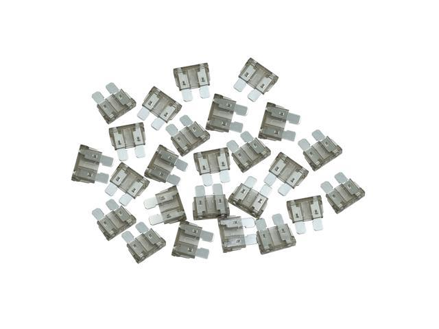 25pcs dc 5v-32v 2a universal middle blade style fuse for car motorcycle boat