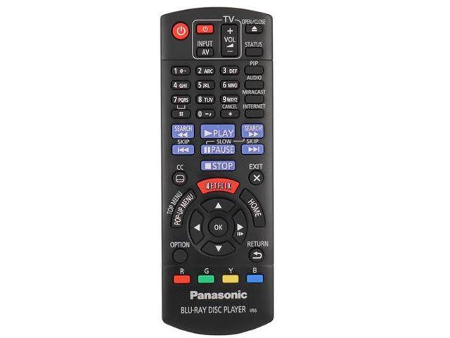 Panasonic N2QAYB000953 Remote Control for DMP-BDT360 DMP-BDT361 Blu-ray  Player - Newegg com