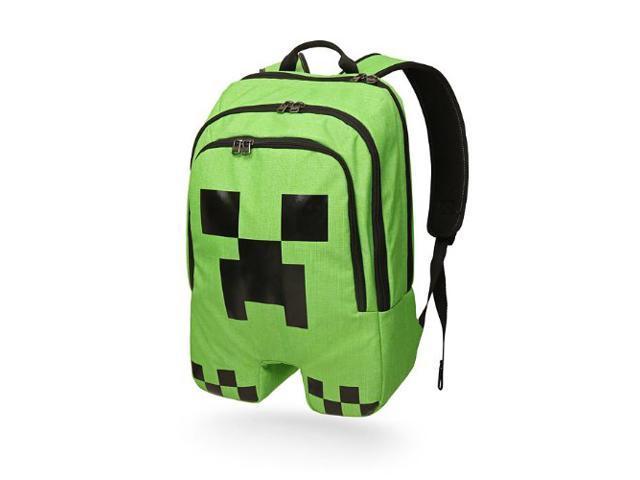 Children/'s Minecraft Schoolbags Green cartoon kid/'s school bag Top Games Boys