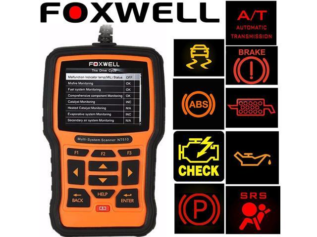 Foxwell Nt510 Scanner For Honda Element Obd2 Diagnostic Scan Tool