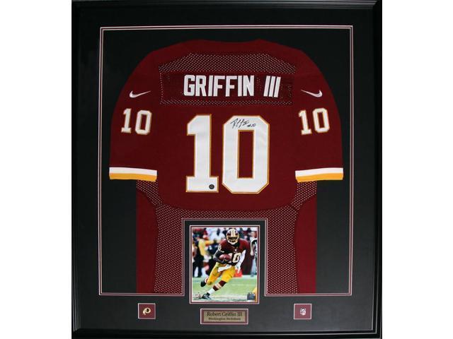 newest 4fb13 4e610 Robert Griffin III RG3 Washington Redskins signed jersey frame - Newegg.com