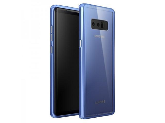 new arrival 1377d db53a New Fashion Metal Space Aluminum Alloy Toughened Glass Back Cover Dual  Protective Case For Samsung Galaxy Note 8 Cover Phone Case Samsung Galaxy  Note ...