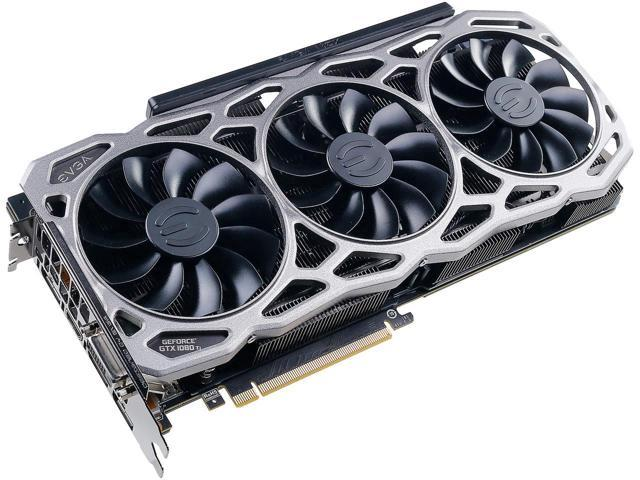 Used - Like New: EVGA GeForce GTX 1080 Ti FTW3 GAMING, 11G-P4-6696-KR, 11GB  GDDR5X, iCX Technology - 9 Thermal Sensors & RGB LED G/P/M Video Graphics