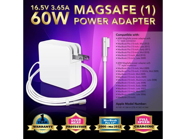 60W 16 5V 3 65A AC Adapter Charger For 2007 2008 2009 2010 2011 Apple  MacBook Pro 13