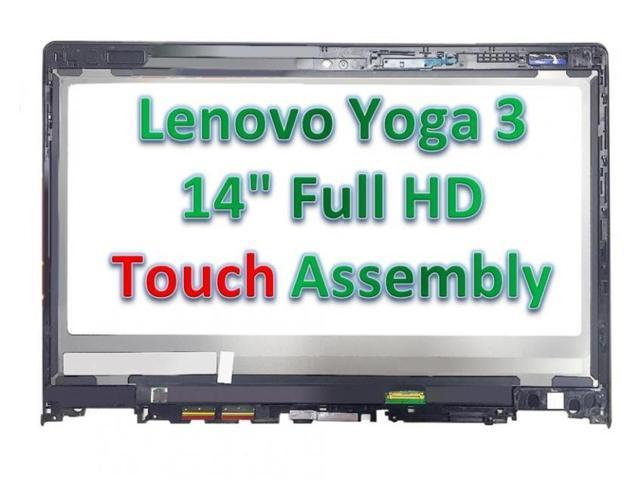 New Lenovo Yoga 3 14 80JH OEM Replacement Touch Screen Digitizer + LCD  Assembly - Newegg com