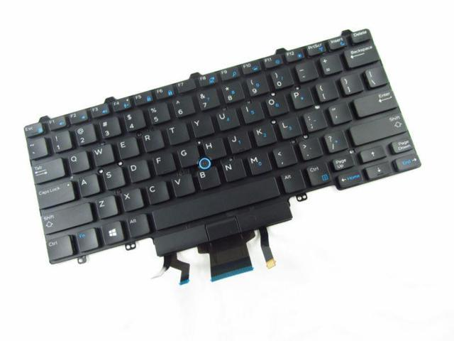 NEW FOR DELL Latitude E7450 Keyboard Backlit US No Frame - Newegg com