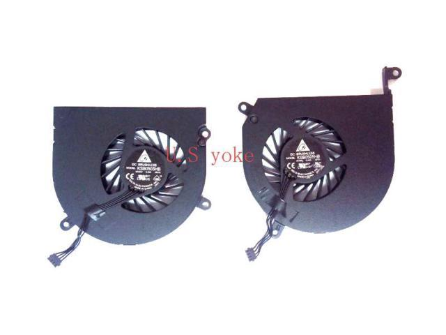 "Macbook Pro A1286 15/"" Left and Right Side CPU Cooling Fan 2009 2010 2011"