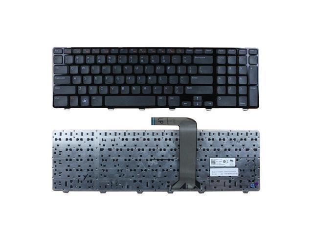 For DELL INSPIRON AEGM7U00120 LAPTOP KEYBOARD WITH BLACK FRAME