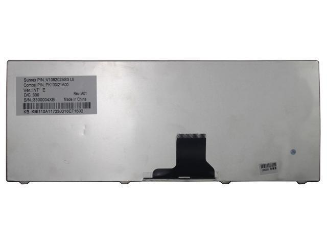 Laptop Keyboard Compatible for with HP Pavilion P//N 682748-001 674286-001 AER39U00220 2B-04901Q100 US Layout Black Color