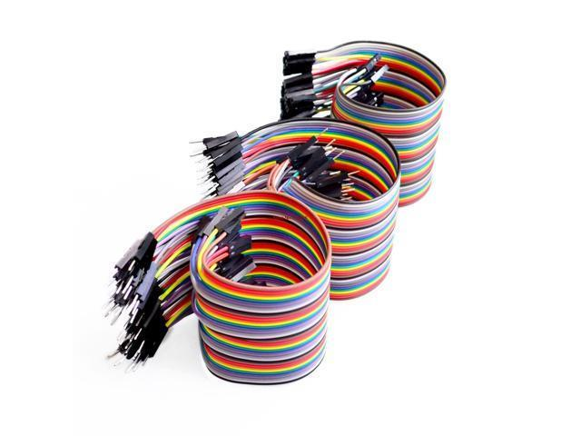Male to Female Female to Female Jumper Cable 120pcs Dupont Wire Male to Male