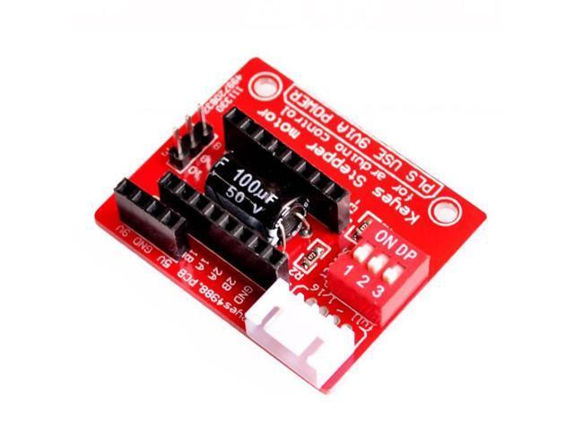 3D Printer A4988 DRV8825 Stepper Motor Control Board Expansion Board -  Newegg com