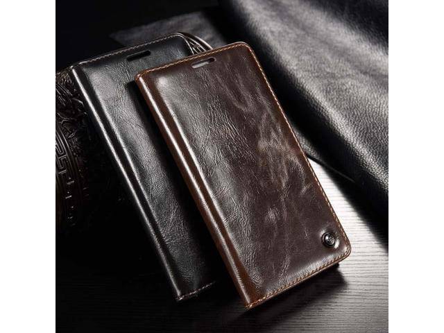 outlet store 49719 bb1c3 Original CaseMe Brand Leather Case Magnet Flip Leather Phone Case Cover For  Samsung Galaxy 2015 A3 A5 A7 2016 A310 A510 JS0656 - Newegg.com