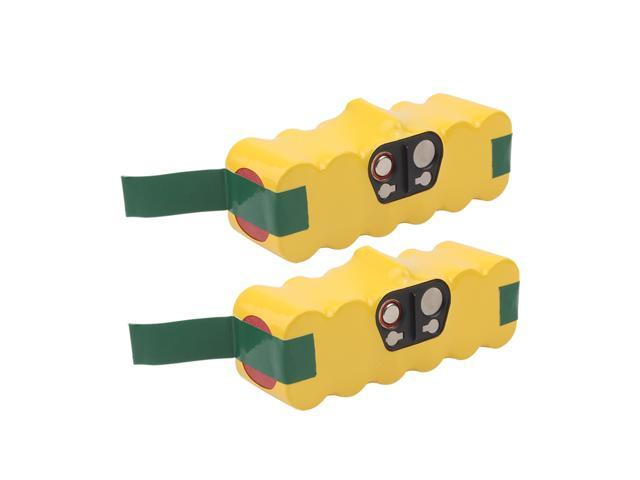 VANON 2 Pack 3000mAh 14 4V Ni-MH Rechargeable Replacement Battery for  iRobot Roomba 500 600 700 800 series R3 500 510 530 531 532 533 535 536 540  545