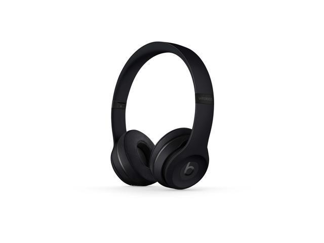 Beats By Dr Dre Solo3 Wireless Black On Ear Headphones Mp582ll A Newegg Com