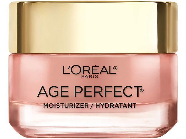 L'Oreal Paris Age Perfect Rosy Tone Moisturizer, Renew And Revive Healthy Tone, For Visibly Younger Looking Skin, Anti-Aging Day Cream, Net Wt. 1.7 Ounces (48 Grams)