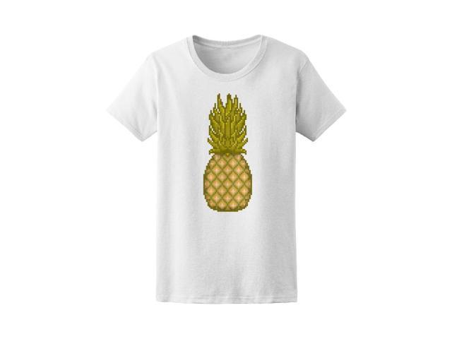Pixel Art Pineapple Tee Womens Image By Shutterstock