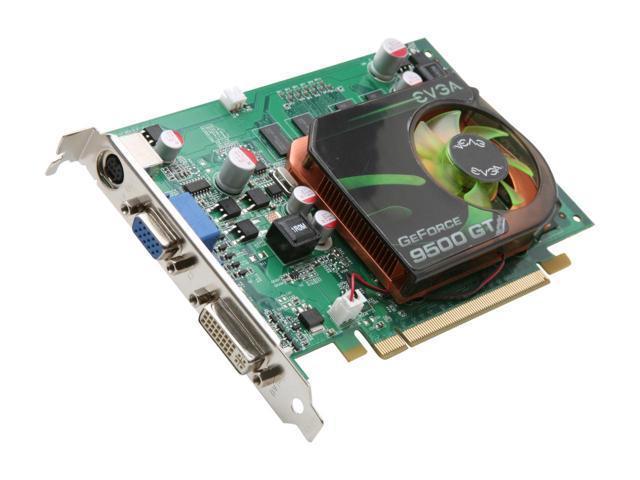 01G-P3-N958-LR EVGA GeForce 9500GT 1GB DDR2 PCI-E Video Graphics Card