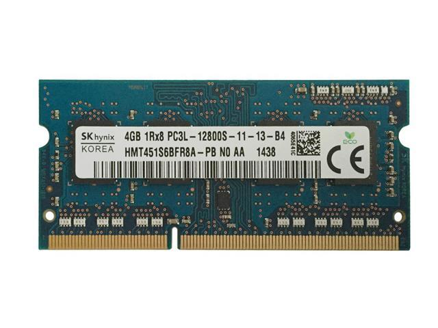 HMT451S6AFR8C-PB PC3-12800 DDR3 1600 Laptop Memory SODIMM Hynix 4GB 1 Stick